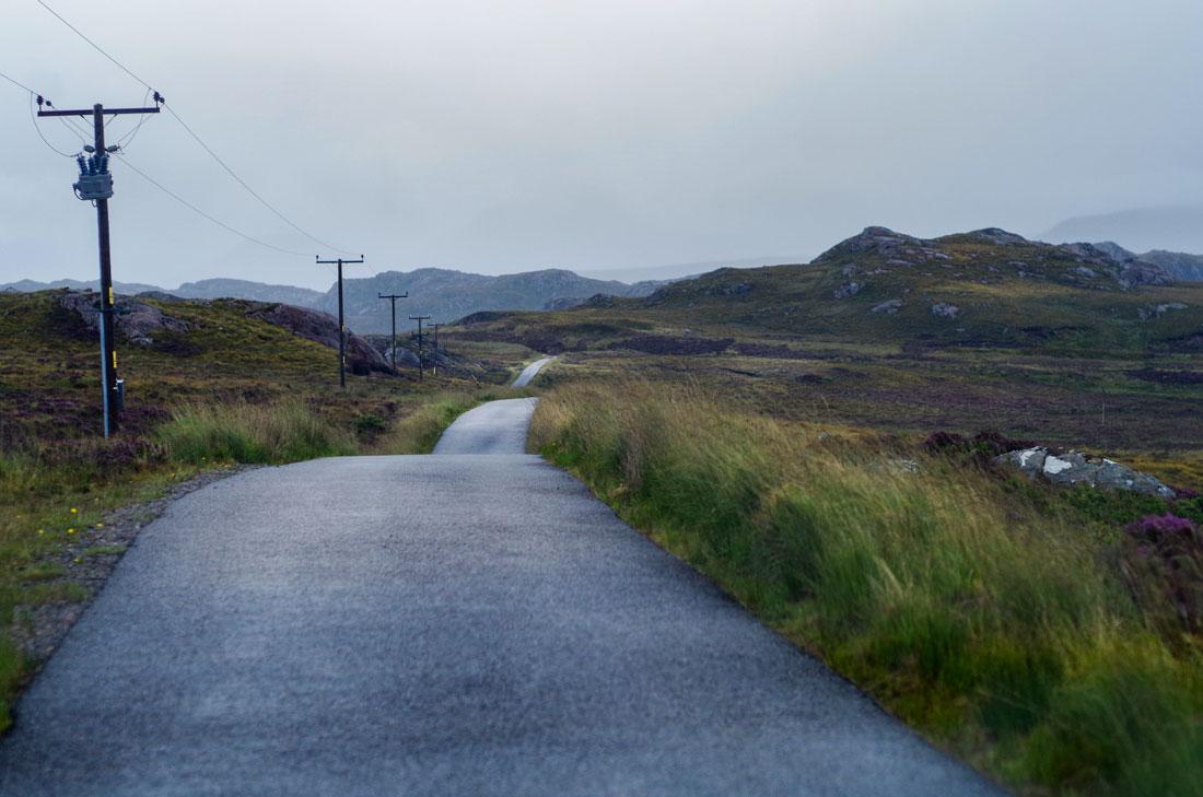 Droga prowadząca w dal