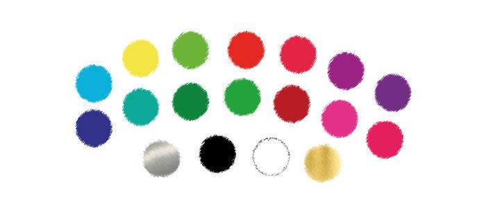 Paleta kolorów dla czystej wiosny
