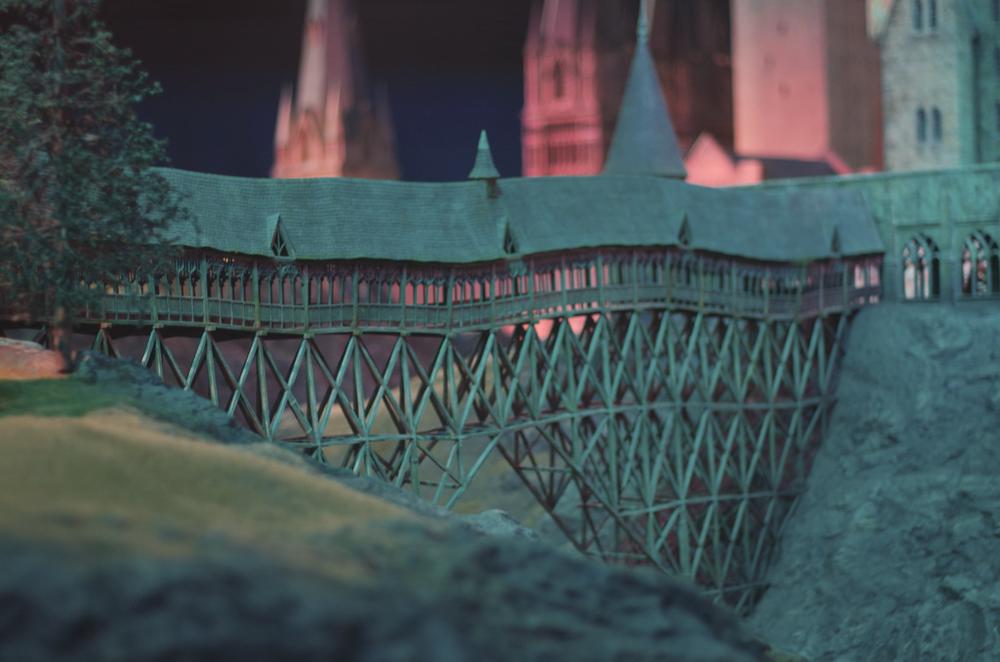 Makieta Hogwartu w Warner Bros. Studio w Londynie