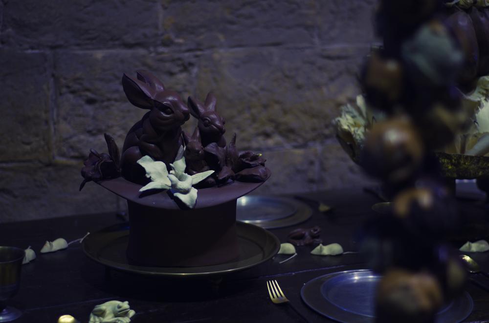 Warner Bros Studio w Londynie - czekoladowy kapelusz