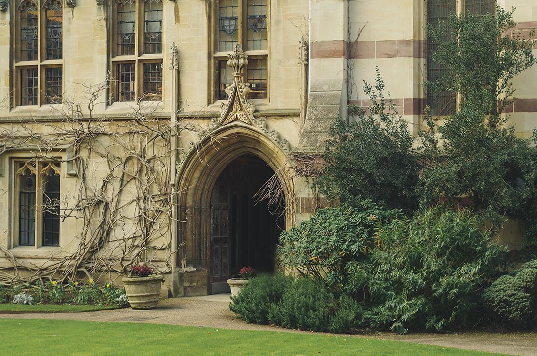 Wejście na Uniwersytet w Oxfordzie - Anglia