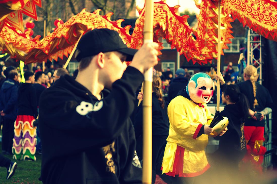 Chińskie Nowy Rok w Liverpool