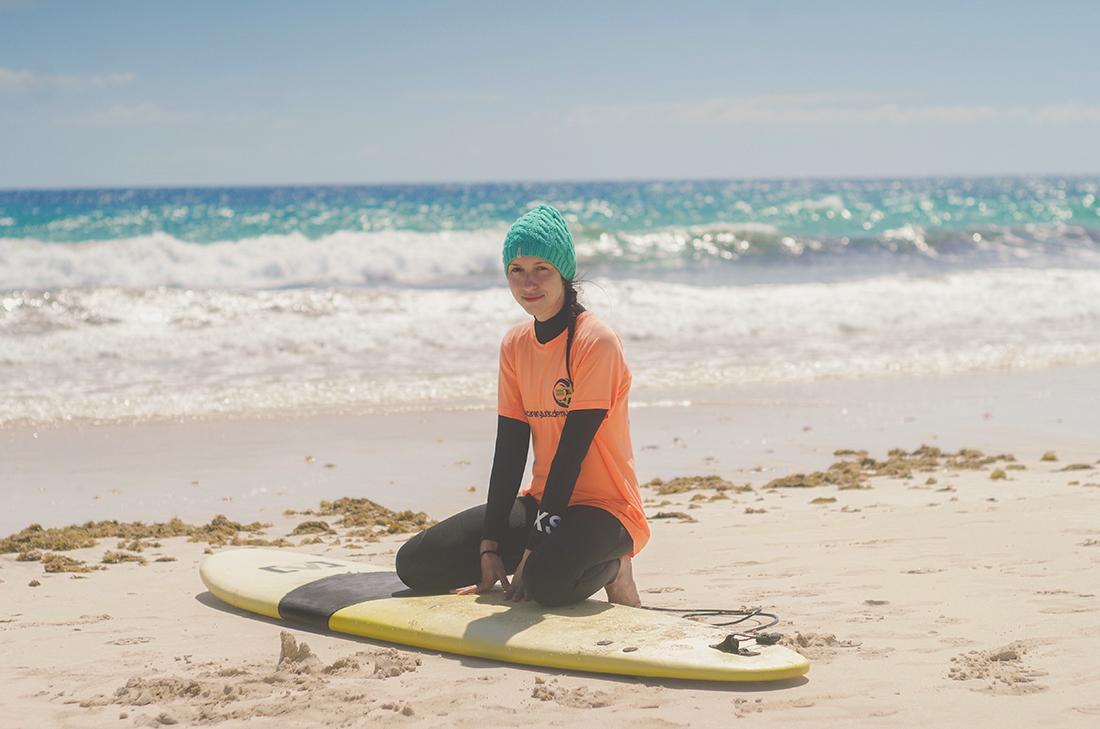 Fuertaventura surfing