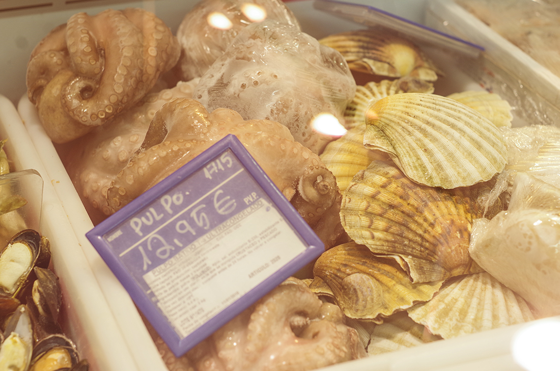 Owoce morza na Fuerteventurze