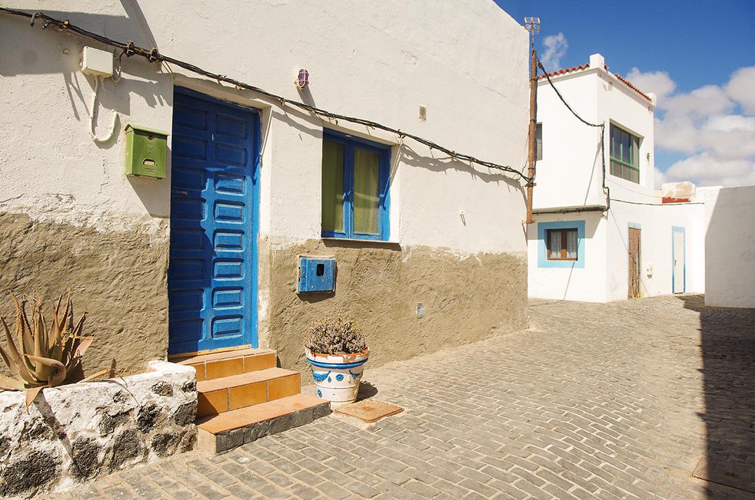Uliczki w El Cotillo - Fuerteventura