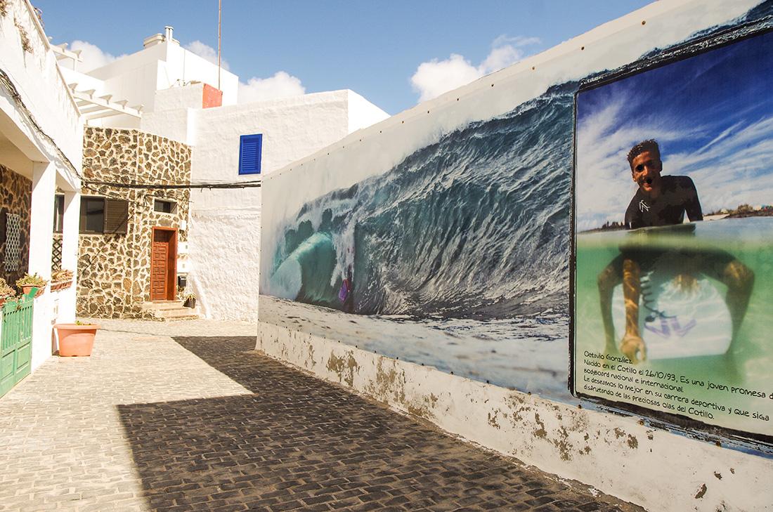 Fuerteventura - Miasteczko El Cotillo