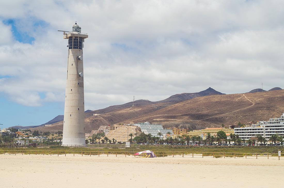 latarnia morska w Morro Jable