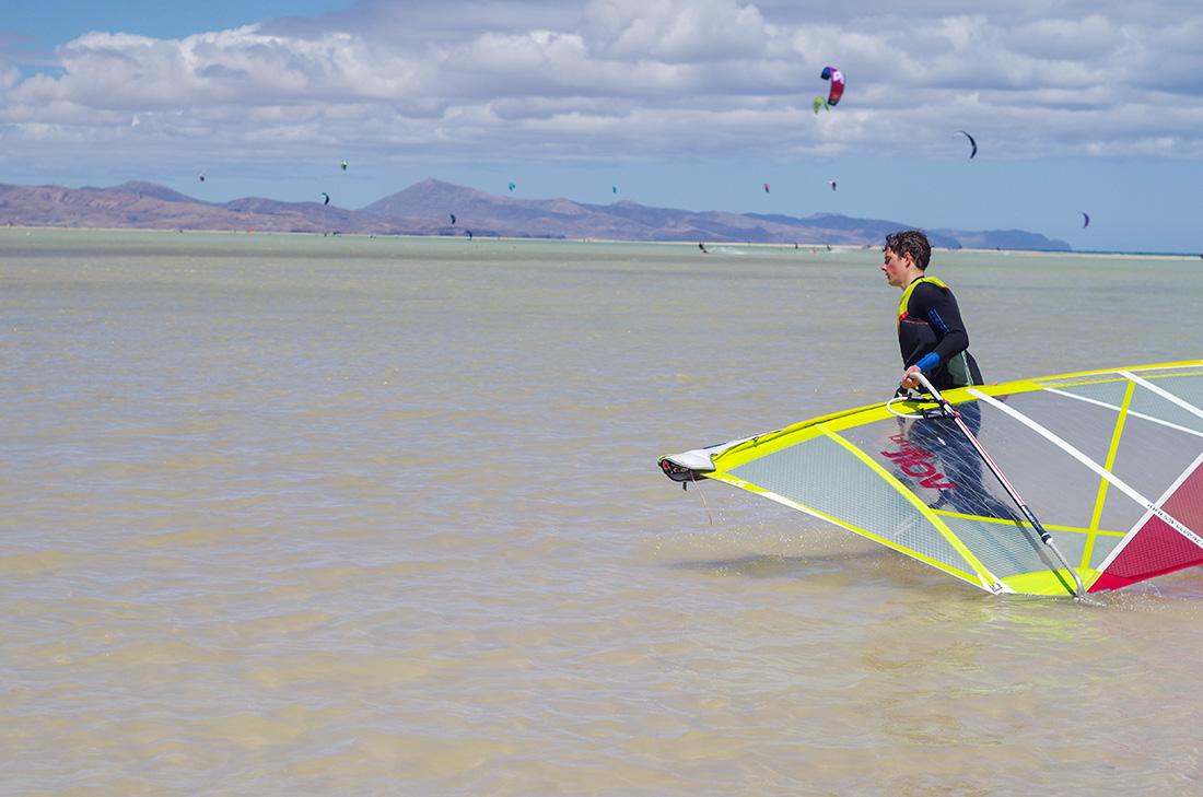 Sporty wodne na Fuerteventurze