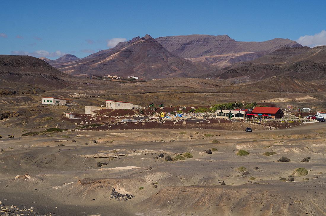 Miasteczko na Fuerteventurze