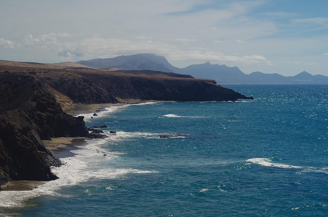 Czarne plaże Fuerteventury