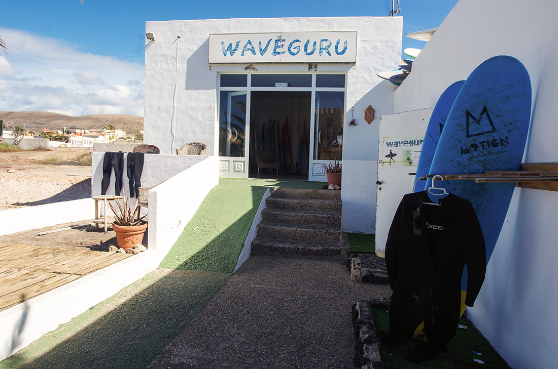 Fuerteventura - wypożyczalnia sprzętu surfingowego