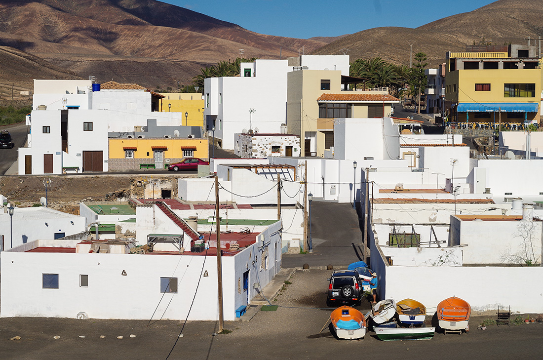Fuertevenura - miasteczko Ajuy