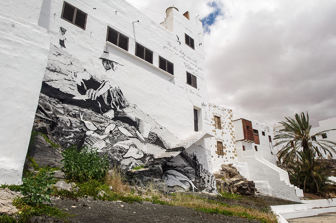 Fuerteventura - street art w Puerto del Rosario