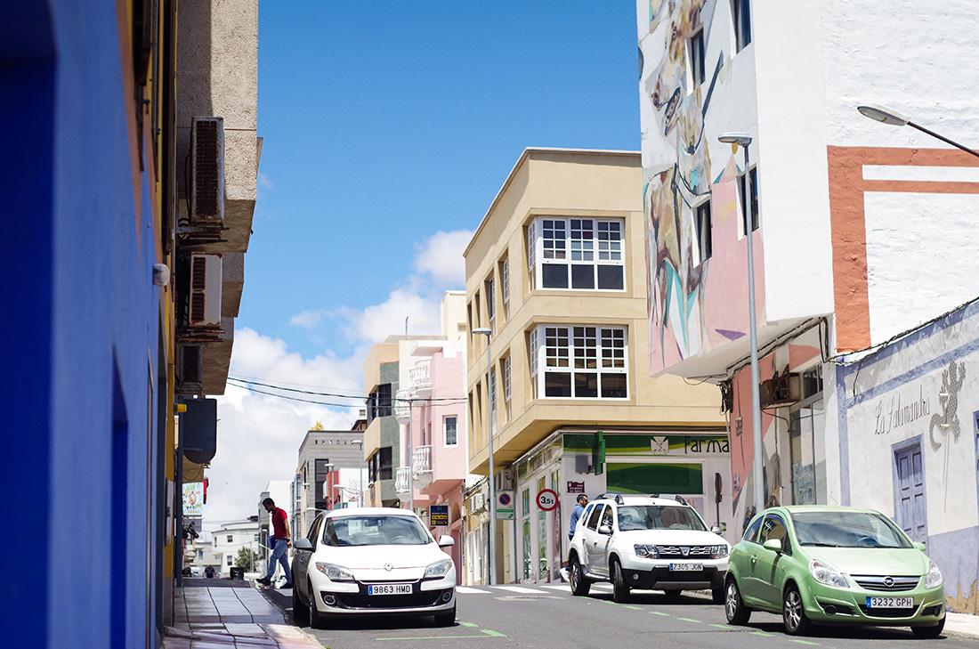 Ulice Puerto del Rosario