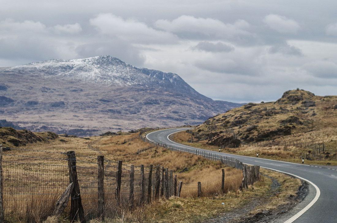Góry w Snowdonia