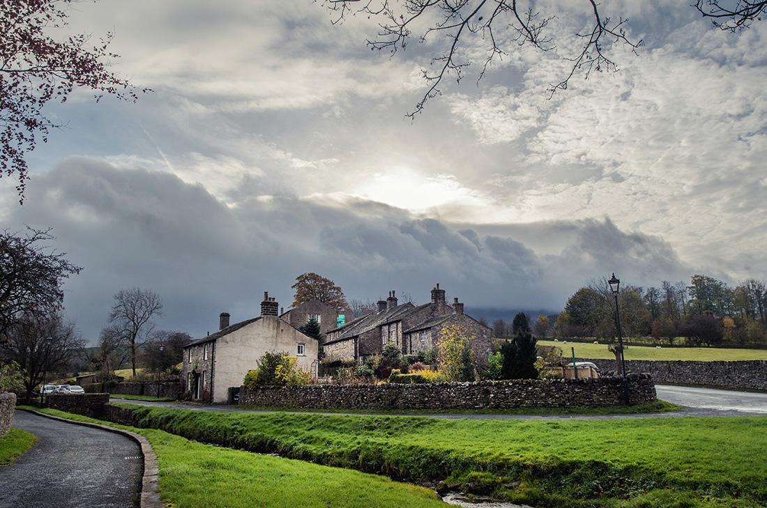 Kamienne miasteczko w Yorkshire