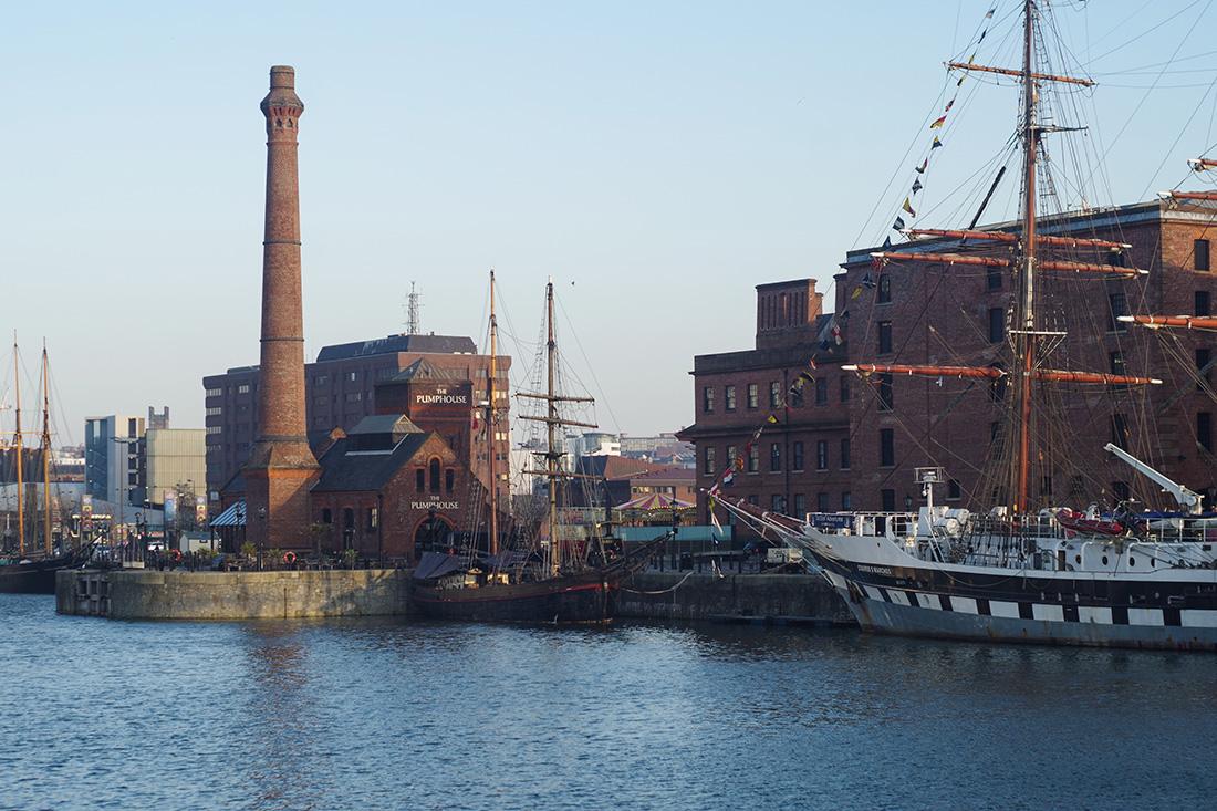 Zatoka w Liverpool